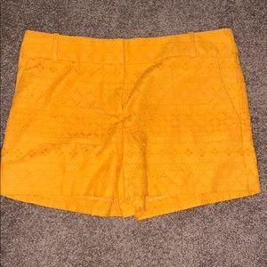 Ann Taylor Loft shorts. Lace details.